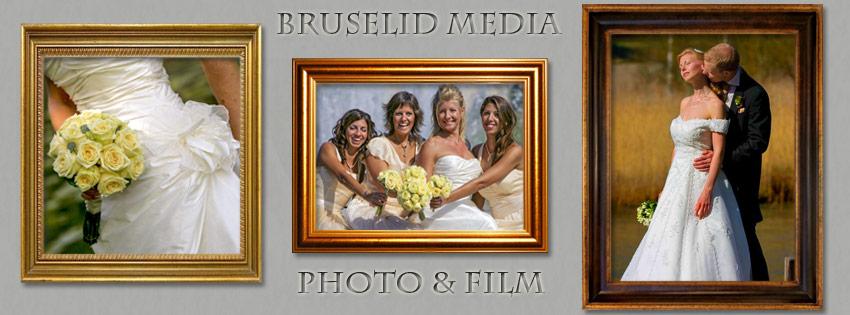 bröllopsbilder på väggen