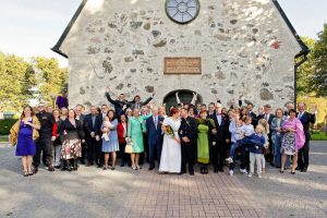 Bröllop A&J - bröllopsfotografering